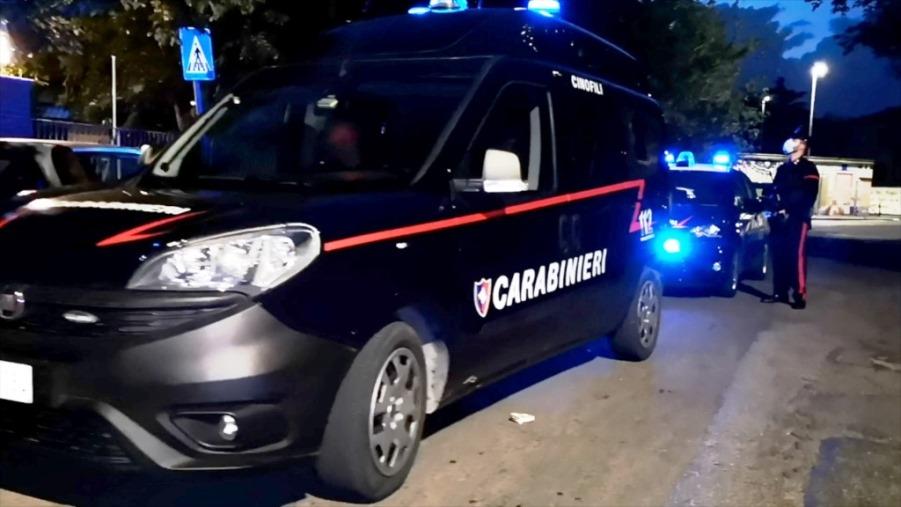 immagine carabinieri a roma