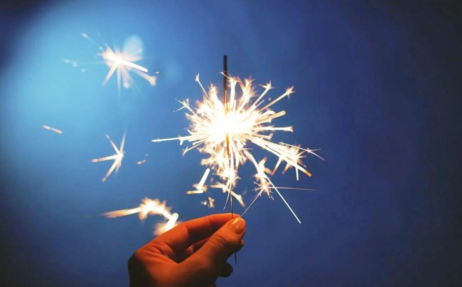immagine fuochi d artificio