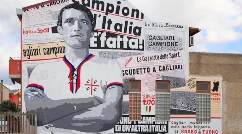Gigi Riva scudetto 1970