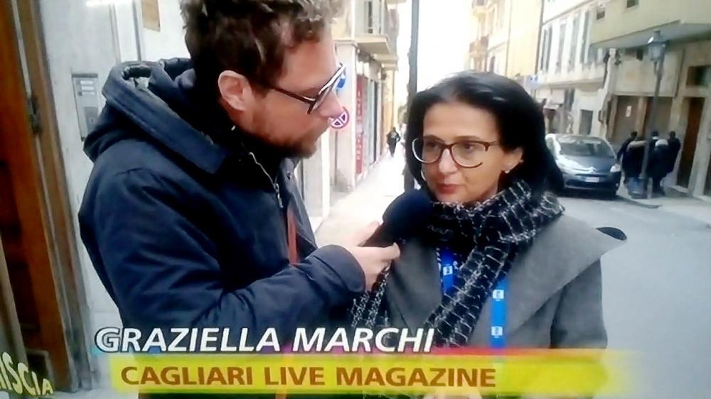 immagine di Graziella marchi intervista a Striscia la Notizia