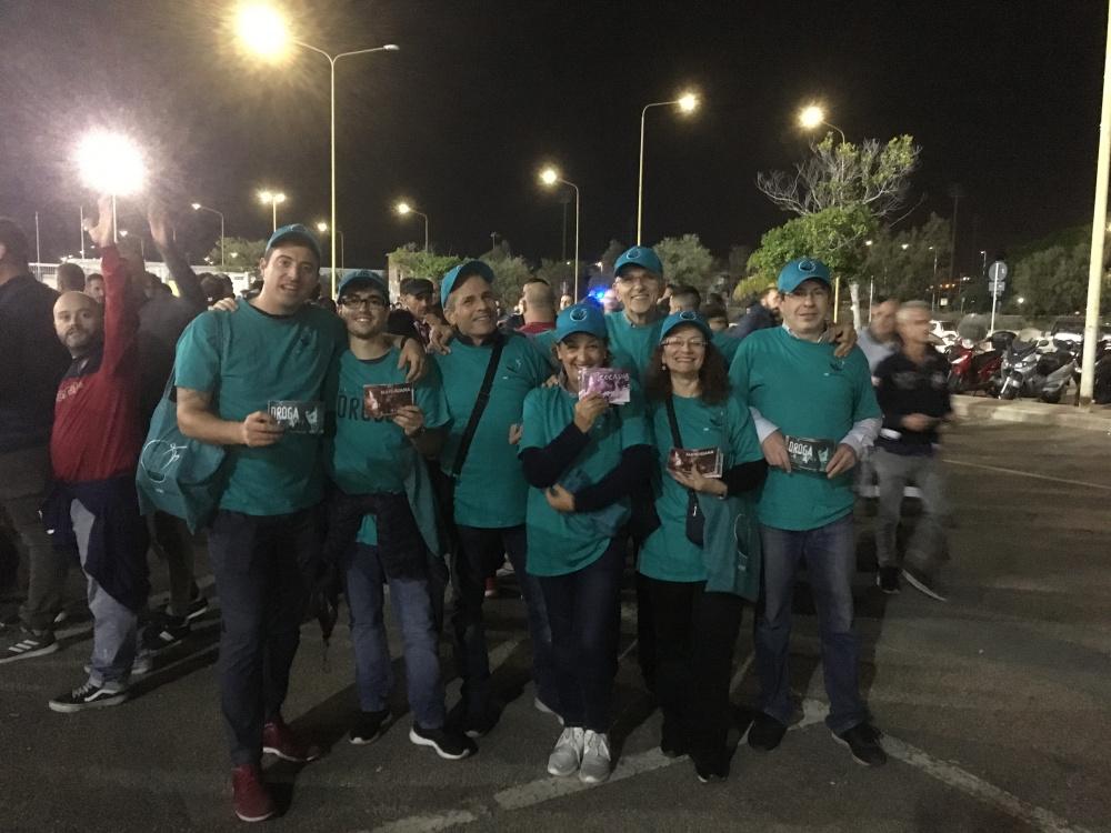 volontari contro la droga