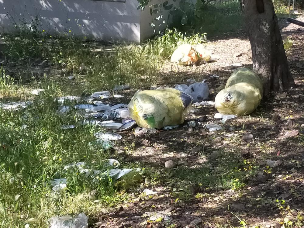 La vergogna della sporcizia a Santa Lucia