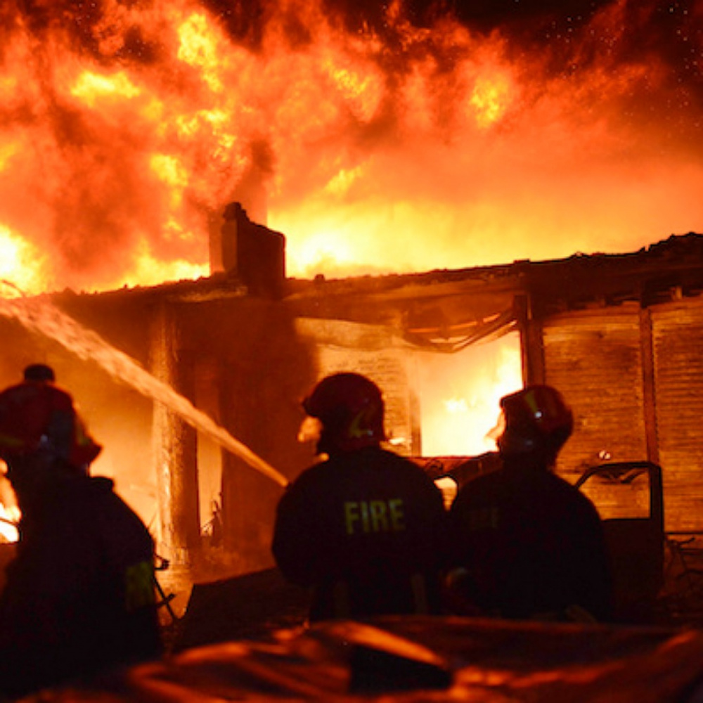 Baracche a fuoco