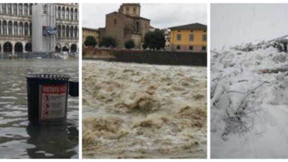 Italia e maltempo