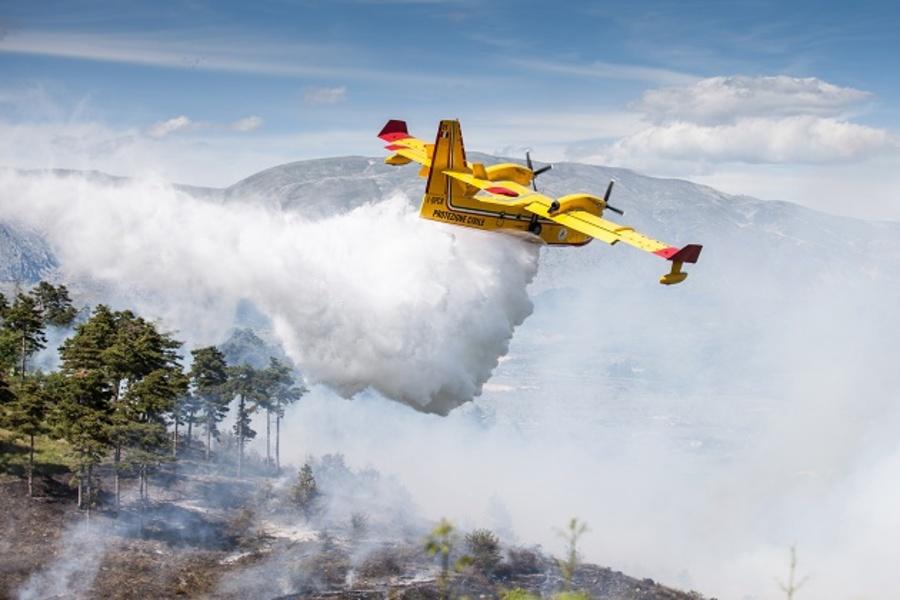 Incendio Santo Lussurgiu Monte Ladu