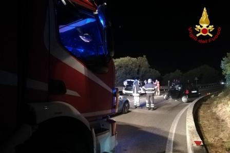 incidente stradale località casagliana sassari