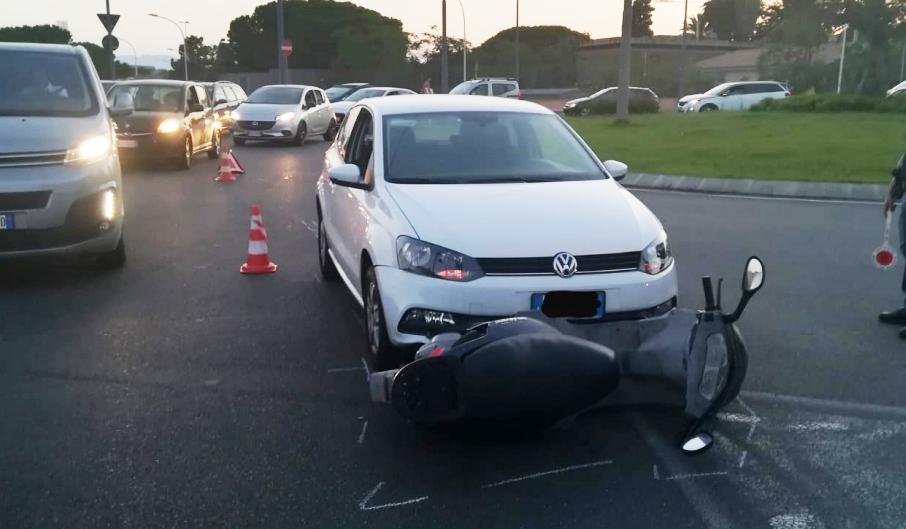 immagine incidente stradale san bartolomeo a cagliari