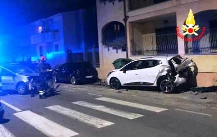 incidente stradale a settimo