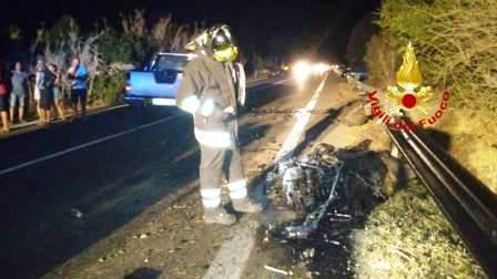 incidente stradale ss466 serdiana