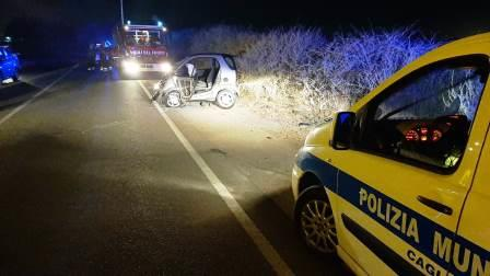 incidente stradale a cagliari
