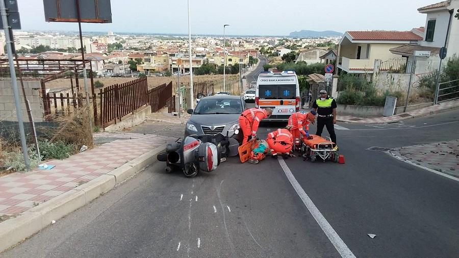 immagine incidente stradale