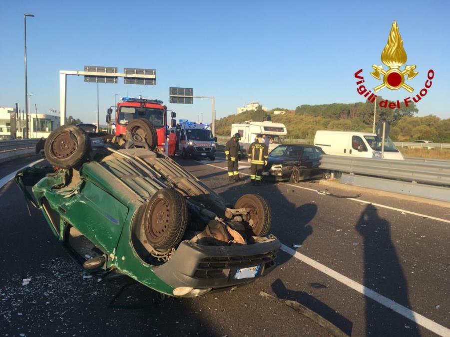 immagine incidente stradale olbia