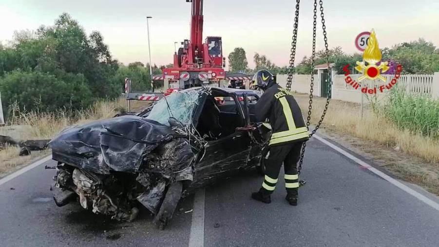 Quartu, incidente Via dell'Autonomia: L'auto era priva di copertura assicurativa