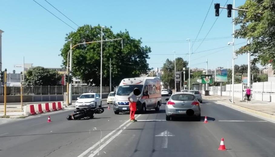 immagine incidente viale marconi cagliari