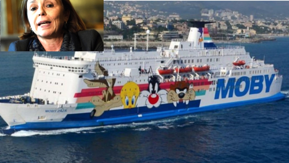 immagine Ministra Luciana Lamorgese, Nave Moby Zaza