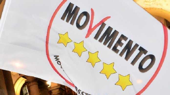 immagine bandiera movimento cinque stelle