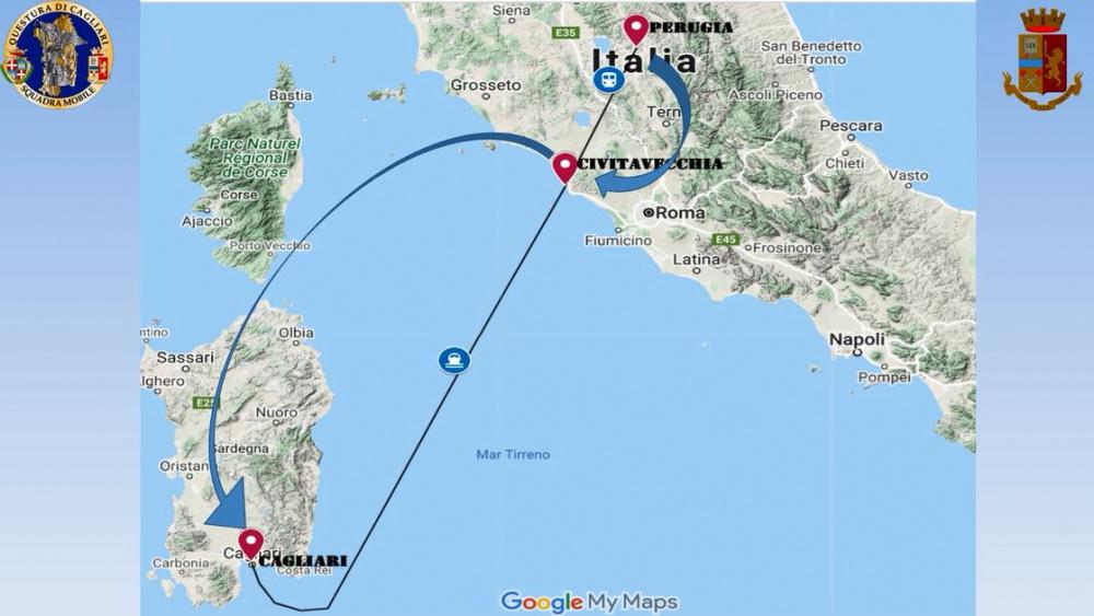immagine traffico di eroina dall'umbria a Cagliari, arrestati 3 nigeriani