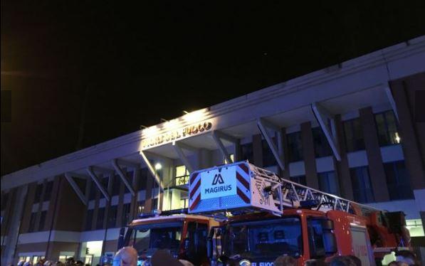 Immagine manifestazione vigili del fuoco