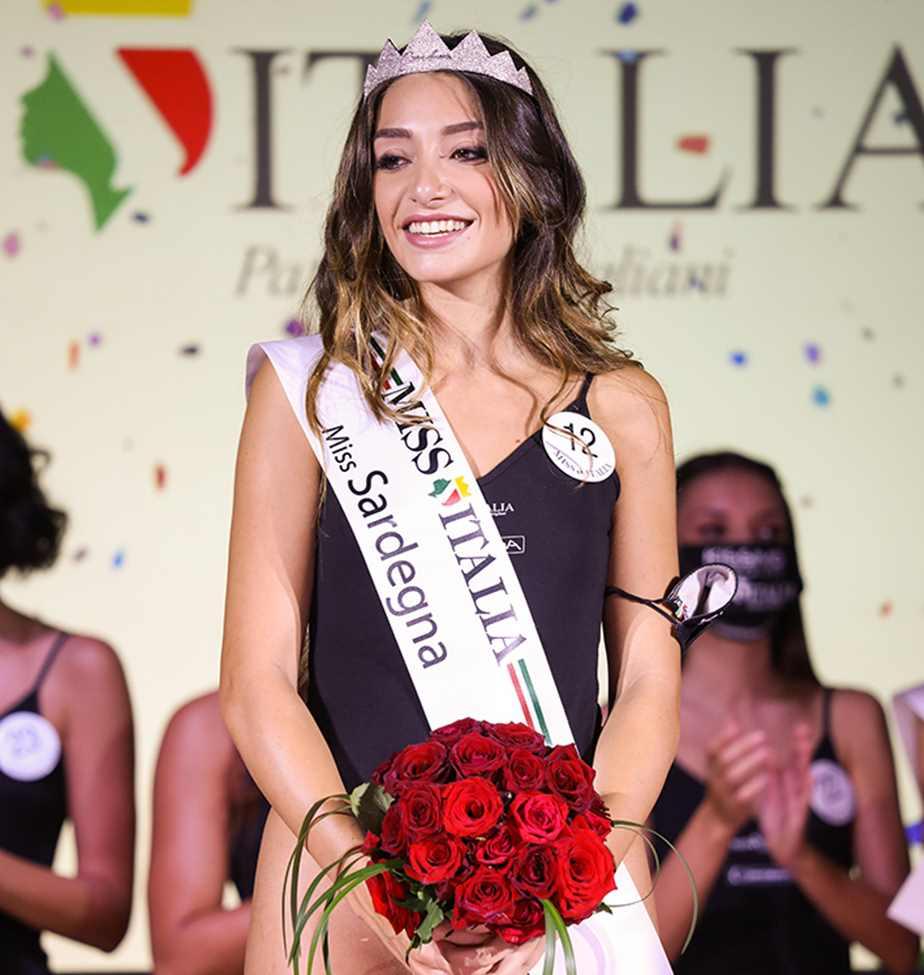 Finali Regionali di Miss Italia 2021: Chiara Manca, oristanese è Miss Sardegna 2021