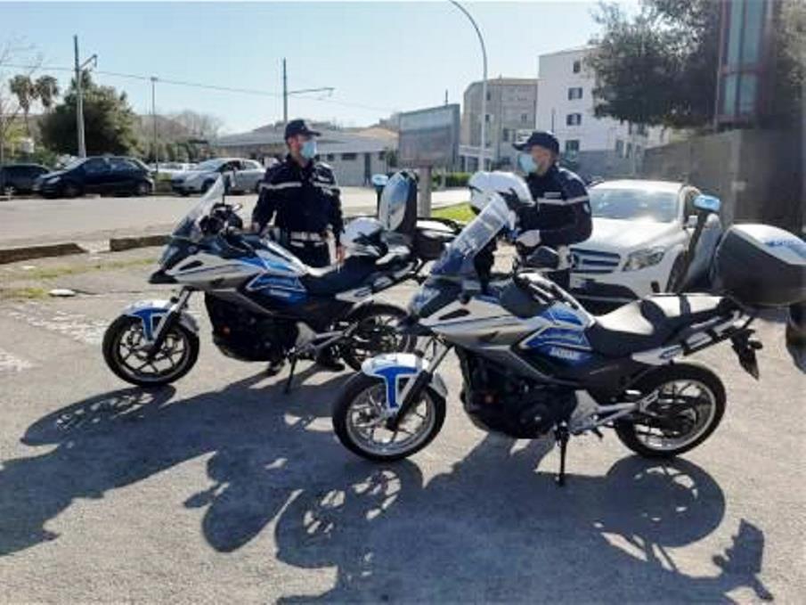 polizia municipale di sassari