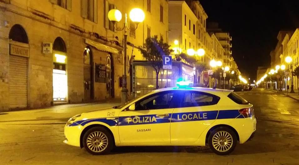 auto polizia municipale sassari