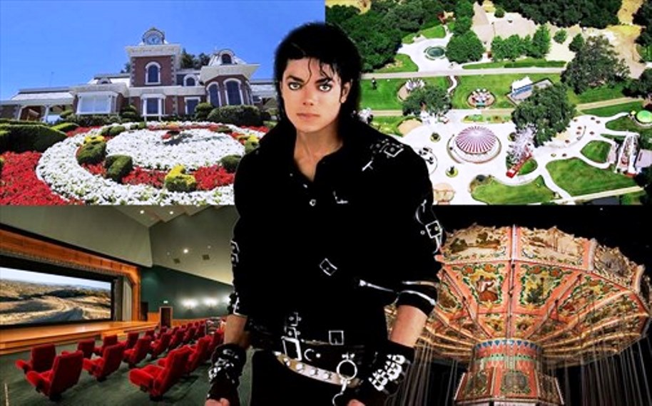 immagine neverland ranch di michael Jackson