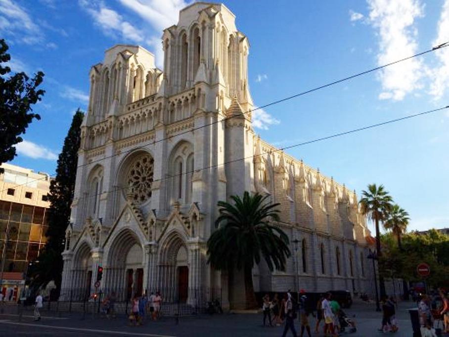 immagine della chiesa di Notre dame a nizza