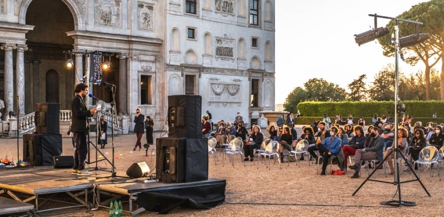 Open mic a Villa Medici   Félix Jousserand & WOW - Incendi Spontanei