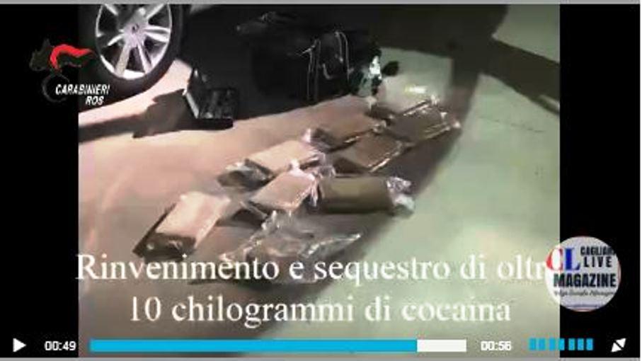 immagine sequestro di droga carabinieri cagliari