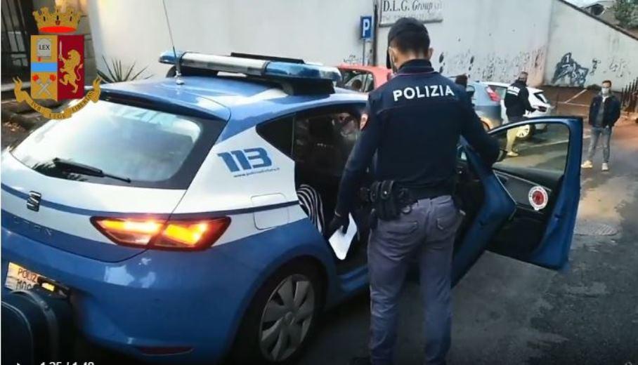 immagine arresto