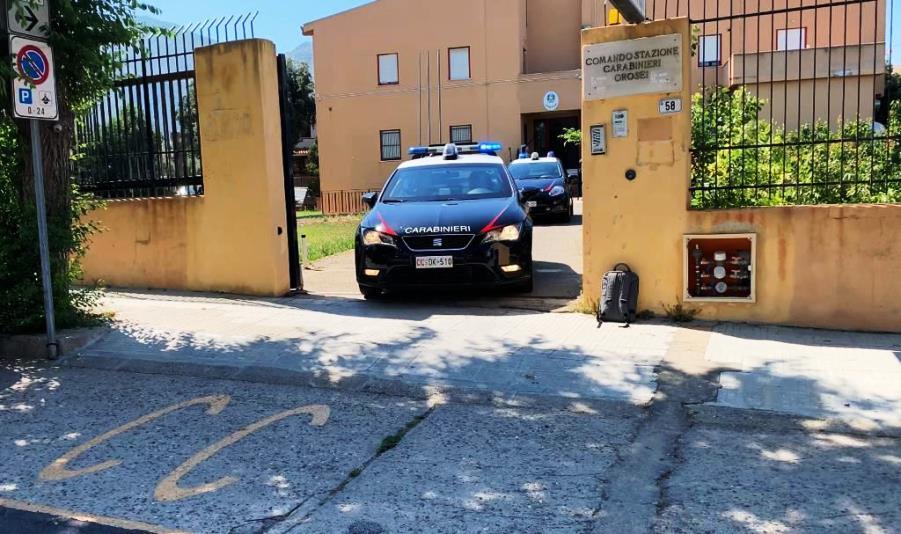 orosei, caserma carabinieri.