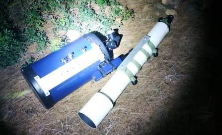 cannocchiali rubati osservatorio astronimico capoterra