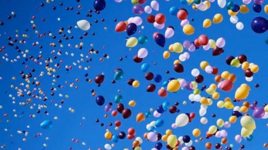 Trento. Multe salate per chi libererà volontariamente un palloncino nel cielo