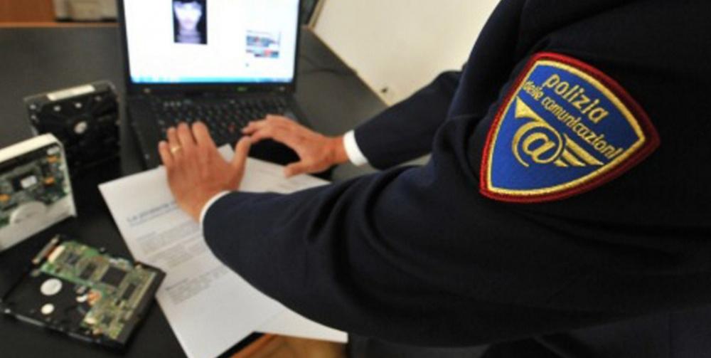 immagine polizia postale contro la pedopornografia in internet