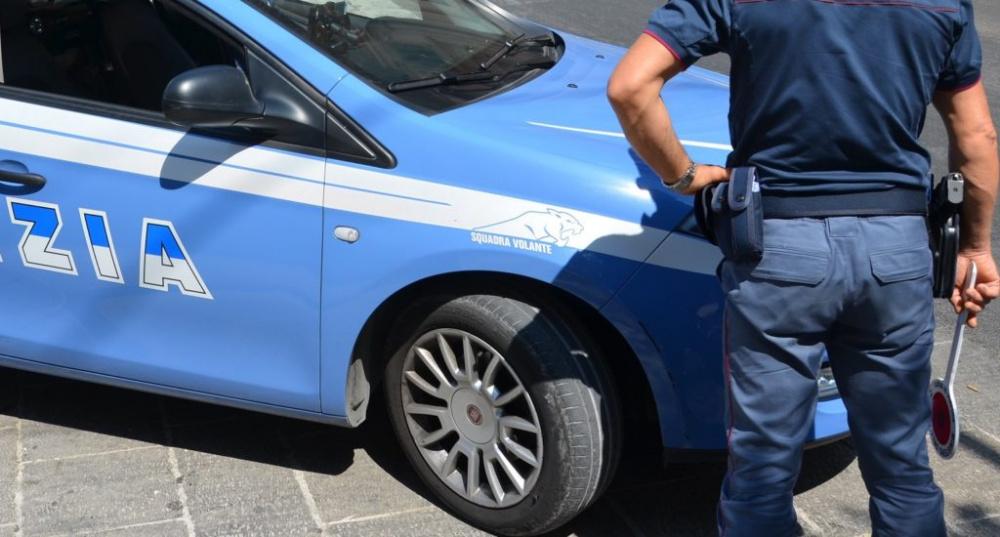 immagine polizia che ha arrestato un trentenne cagliaritano per spaccio di droga