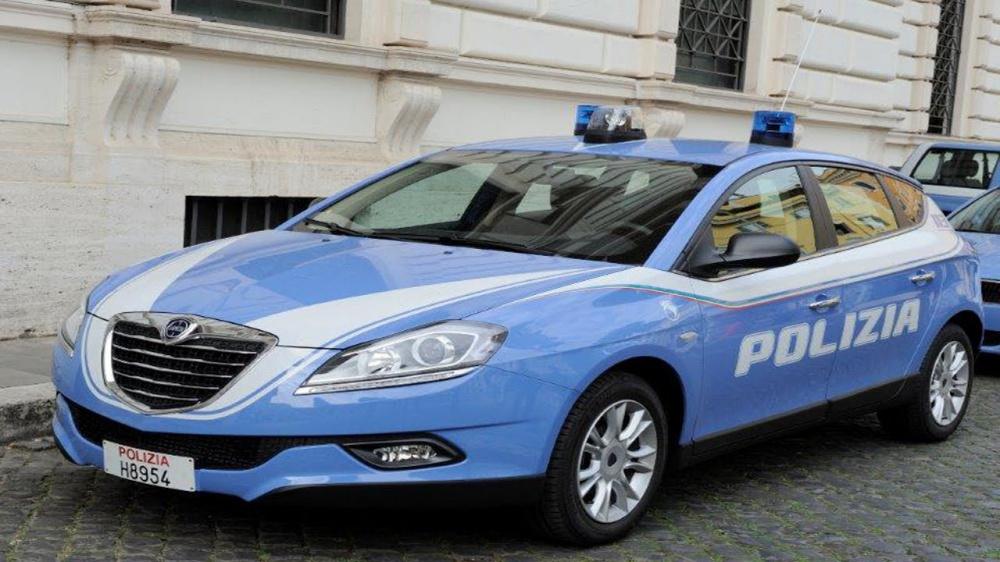 immagine auto della polizia