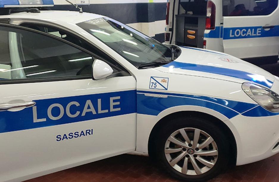 immagine polizia locale sassari