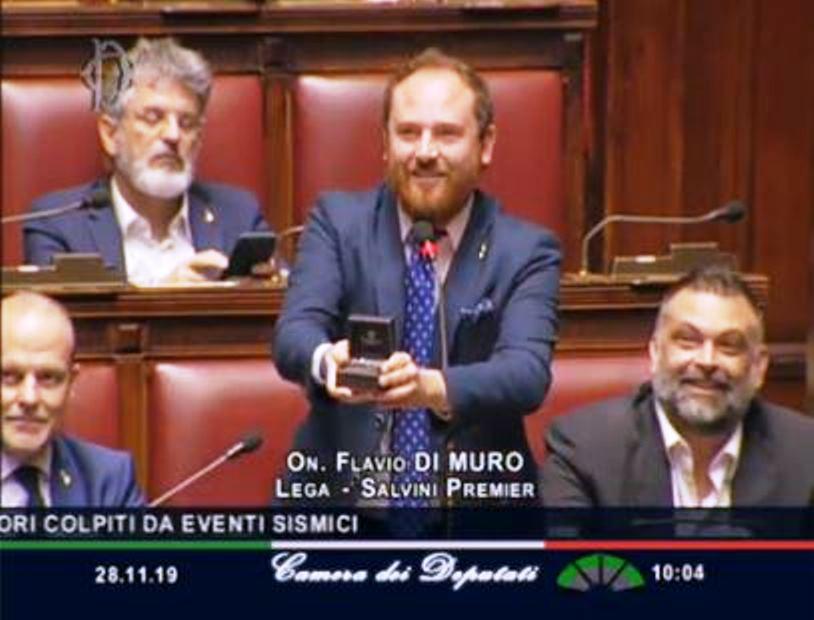proposta di matrimonio in Aula del parlamento