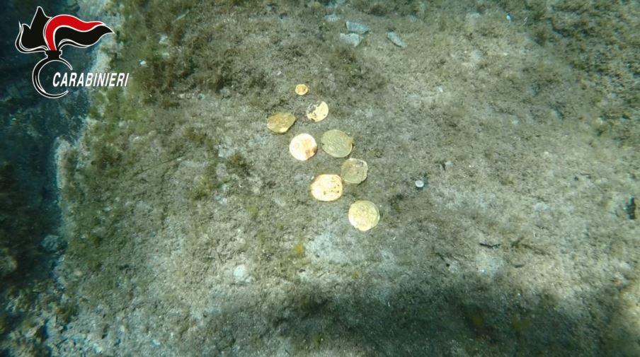reperti archeologici nel golfo di orosei