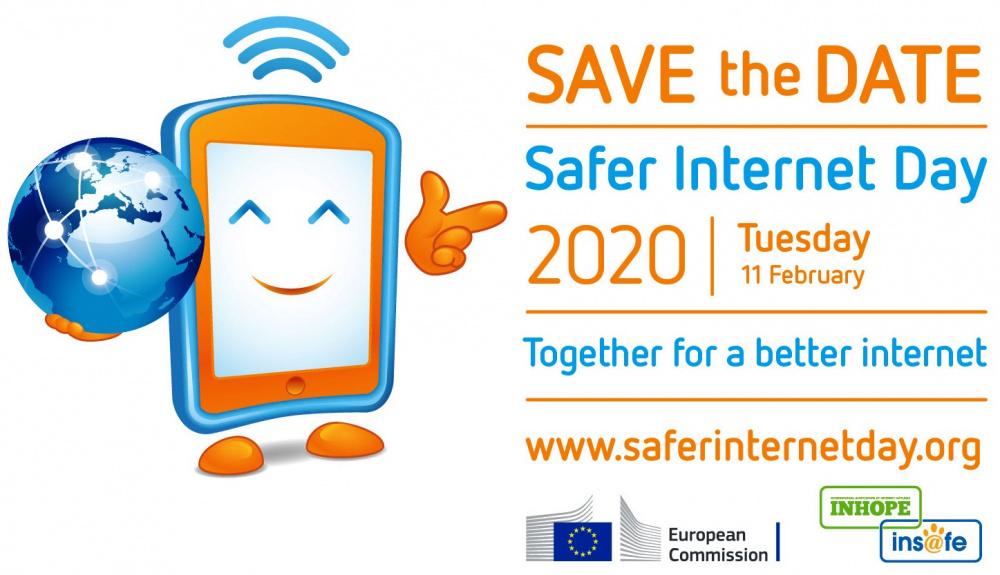 immagine logo Safer Internet Day 2020