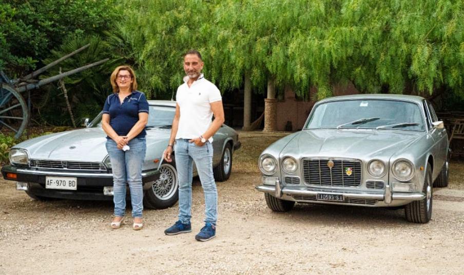 Grande successo per il 2° raduno del Jaguar Enthusiasts' Club Italia in Sardegna