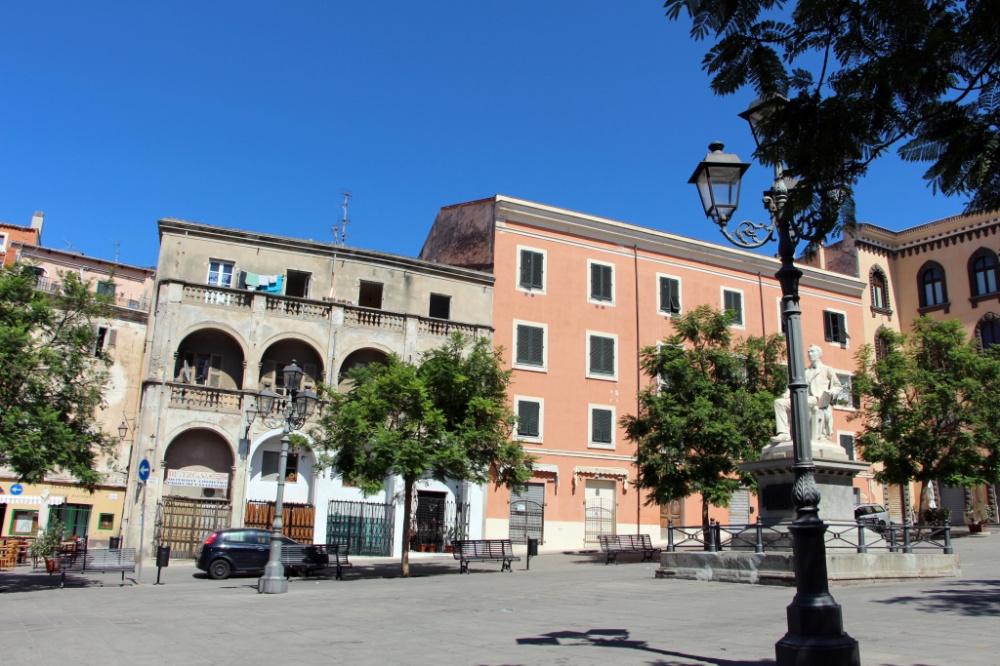 immagine centro storico di sassari
