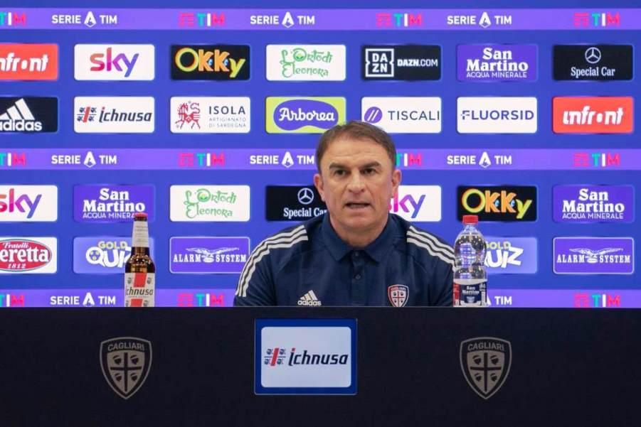 Leonardo Semplici allenatore del Cagliari