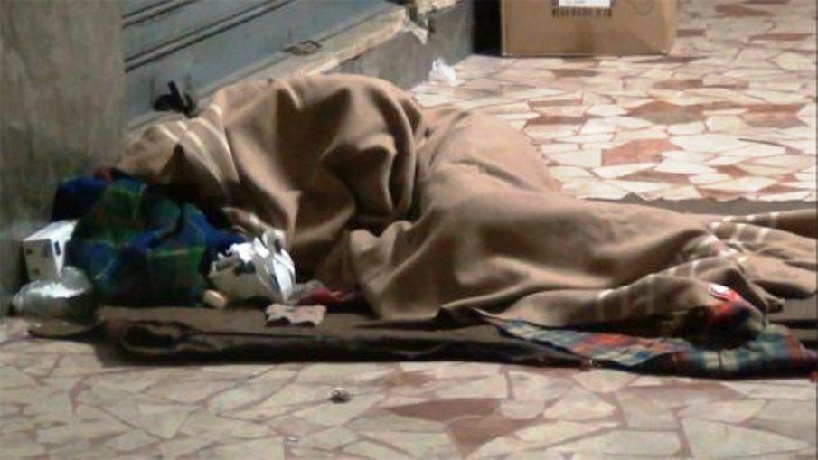 chochard senzatetto a milano
