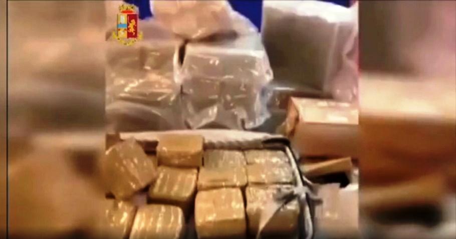 Torino: sequestrati 300 kg di droga, 2 persone arrestate dalla squadra mobile VIDEO