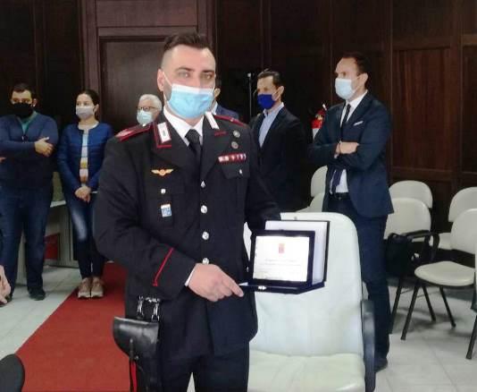 appuntato dei carabinieri Damiano Muffaldi Iglesias
