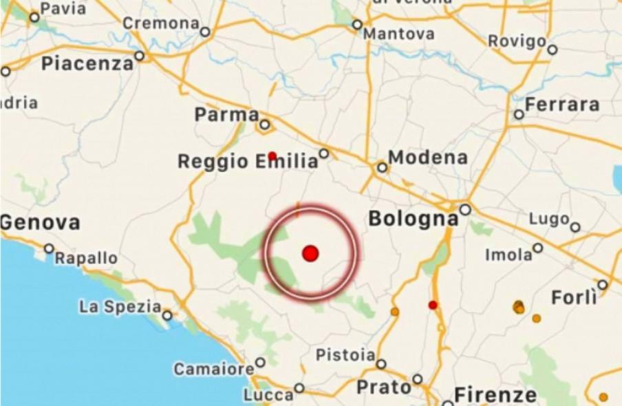 immagine cartina geografica emilia romagna