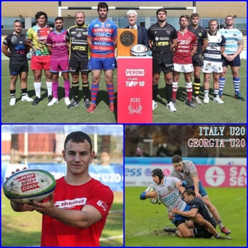 Parte oggi il campionato italiano Peroni Top 10 di Rugby