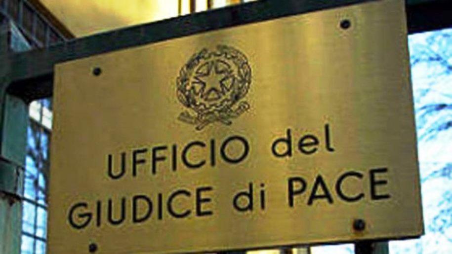 immagine targa ufficio giudice di pace