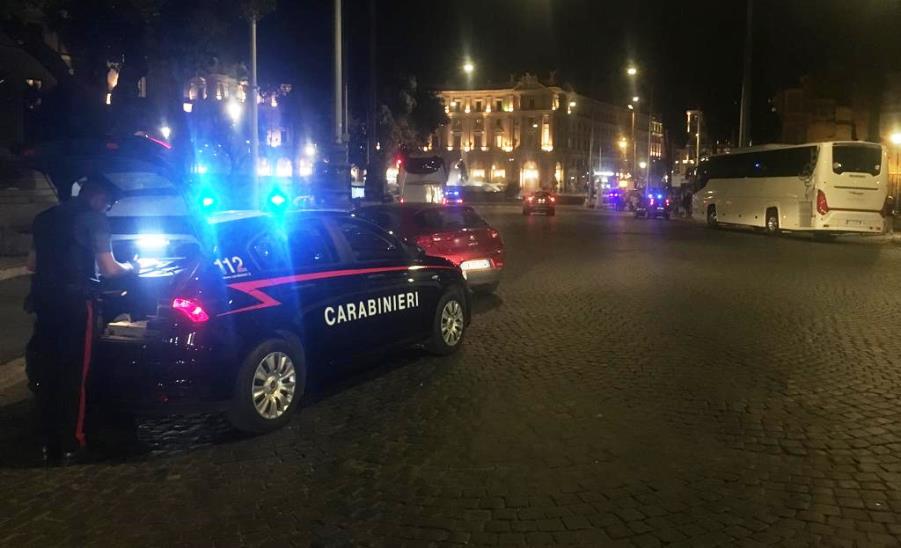 immagine controllo dei carabinieri